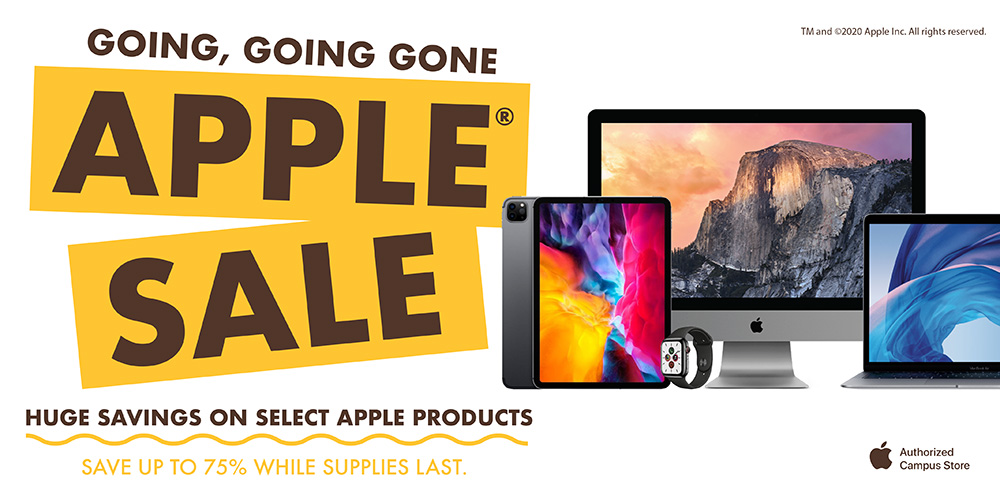 Going, Going, Gone Apple Sale