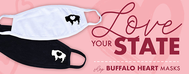 Shop Buffalo Heart Masks